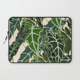 Caladium Alocasia Plant Laptop Sleeve