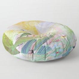 Japanese modern interior art #61A Floor Pillow