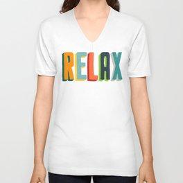 Relax Unisex V-Neck