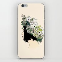 geisha iPhone & iPod Skins featuring Geisha by Hypathie Aswang