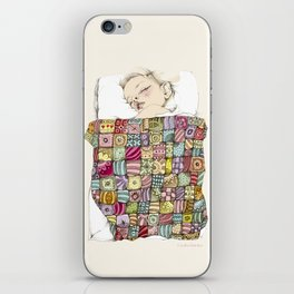 sleeping child iPhone Skin