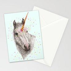 Unicorn V Stationery Cards
