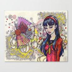 Yukiko Canvas Print