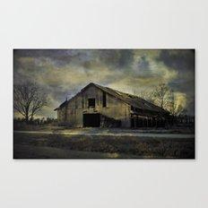 Old Rugged Barn Canvas Print