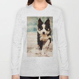 The Best Friends - Snow's Border Long Sleeve T-shirt