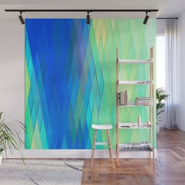 Re-Created Vertices No. 32 by Robert S. Lee Wall Mural
