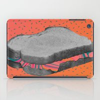 fat iPad Cases featuring Fat Sandwich by Calepotts