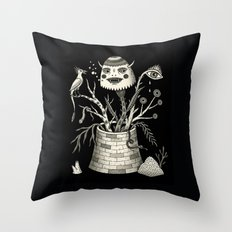 Savage Bouquet Throw Pillow