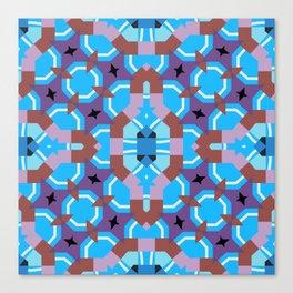 blue sleep Canvas Print