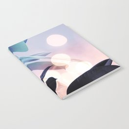 Ficus Light Purple Notebook