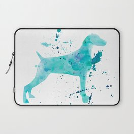 BLUE WATER WEIMARANER Laptop Sleeve