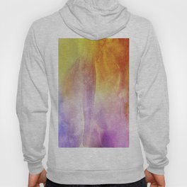 Abstract Watercolor Beautiful P 307 Hoody