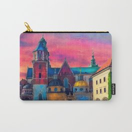 Cracow Wawel art Carry-All Pouch