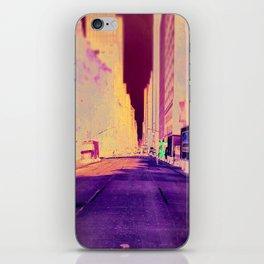 street view iPhone Skin