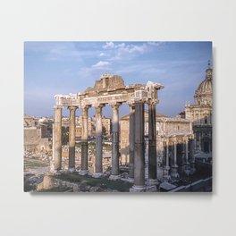 Roman Ruins - Vintage photography Metal Print