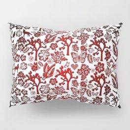 Joshua Tree Heart RED by CREYES Pillow Sham
