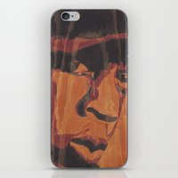 jay fleck iPhone & iPod Skins featuring Jay by 100mill