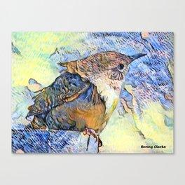 Sing Little Wren Canvas Print