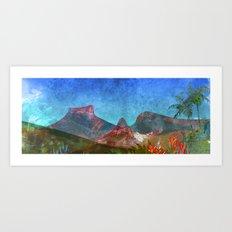 Tijuca rainforest/Rio de Janeiro. Art Print