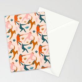 Nymphs pattern Stationery Cards