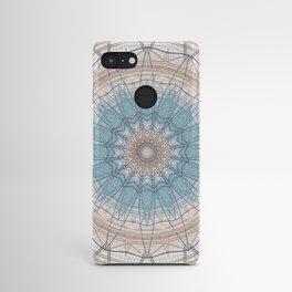 Soft Neutral Mandala Design Android Case