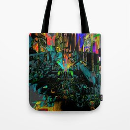 disordered Tote Bag