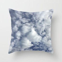 cloud pattern Throw Pillow