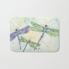 Xena's Dragonfly Bath Mat