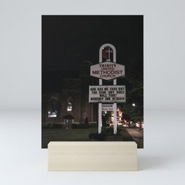 God bless Alabama football Mini Art Print