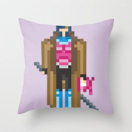 PixelWorld vol. 1 | Gambit Throw Pillow