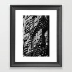 New York City Streets 2 Framed Art Print