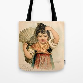 Spanish Girl Maud Humphrey Tote Bag