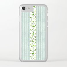 Nature's Patterns Series: Light Variation Clear iPhone Case