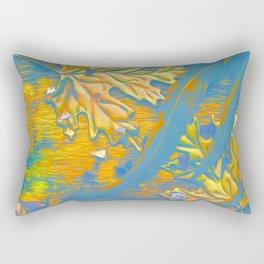 Floating- Detail #2 Rectangular Pillow