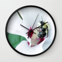 Hungry Bee Wall Clock