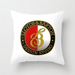 L&B Design Studio Throw Pillow