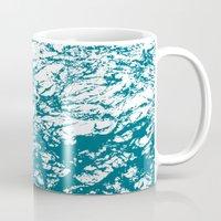 stone Mugs featuring Stone by mangulica illustrations
