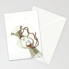 Sur les traces de Noël…  Stationery Cards
