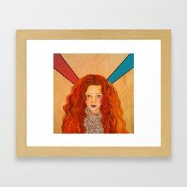 Ray Framed Art Print