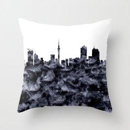 Auckland Skyline New Zealand Throw Pillow