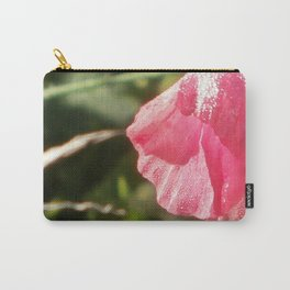 Glistening Pink Carry-All Pouch