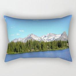 Molas Lake in the San Juan Mountains Rectangular Pillow