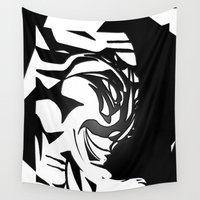 wicked Wall Tapestries featuring Wicked by Violet Vibrance