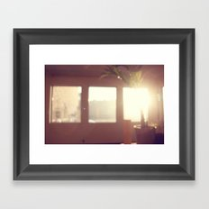 view from my window . ii Framed Art Print