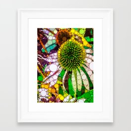 Prickly flower to you Framed Art Print