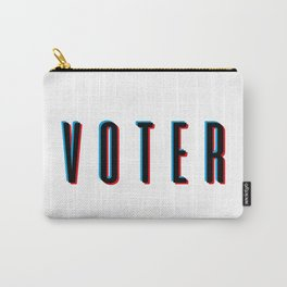 Hi, I'm a VOTER. Carry-All Pouch