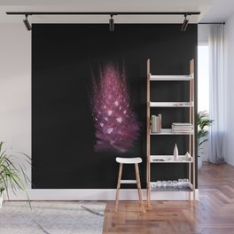 Pink flame Wall Mural