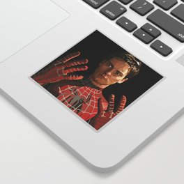 toby maguire Sticker