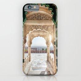 Jaswant Thada memorial in Rajasthan, India iPhone Case