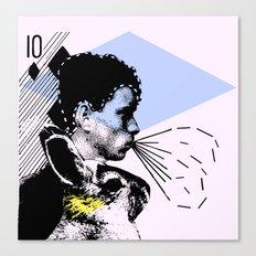poster hero  Canvas Print